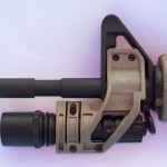 Elzetta Design Tactical Weapon Light mount and Weapon Light.