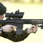 British troops get new Sharpshooter – The L129A1