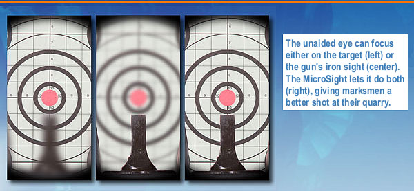 Breakthrough MicroSight Technology Improves Iron Sights