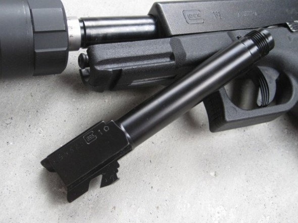 GLOCK factory threaded barrels?
