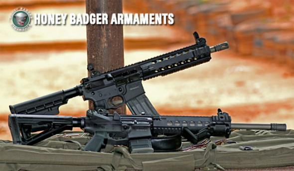 Honey Badger Armaments Range Day