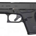 The New GLOCK 43, GLOCK's first single stack 9mm