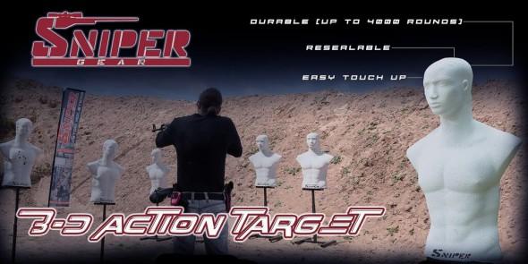 Sniper 3d Action Target