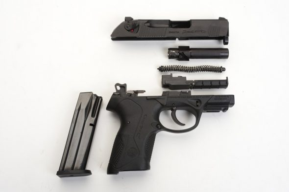 Beretta PX4 Storm (Disassembled)